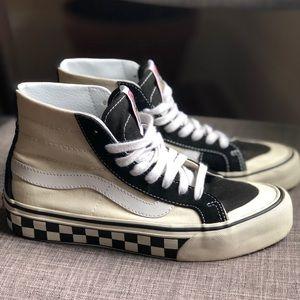 Vans Alyx High Top Checkered Sole Mens 5 WMN 6.5